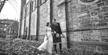 Kristin & Rad's Early Spring Wedding in Edinburgh