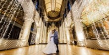 Suzanne and Monday's magical Scottish-Nigerian winter wedding