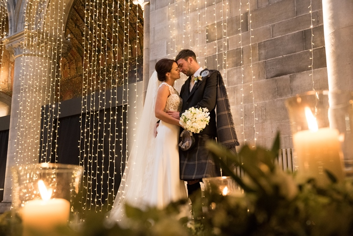 Married in Edinburgh, Mansfield Traquair - image by Julie Tinton Photography