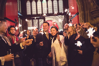 Sparklers for weddings are always are great idea and make great photos! Photo credit: Kirsty Stroma Photography. Venue- Mansfield Traquair in Edinburgh